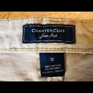 Charter Club Jeans - Charter Club Jeans, tan, 12, Bristol Skinny Ankle
